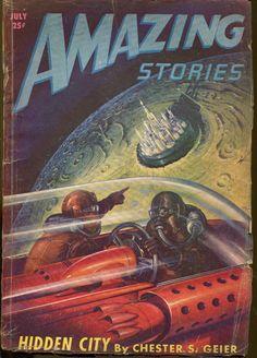 Hidden City in Amazing Stories - not very well hidden really!