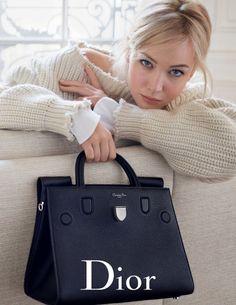 Нежная актриса Дженнифер Лоуренс (Jennifer Lawrence) для Dior весна-лето 2016