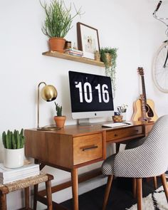 "officeinspo: "" Home office """