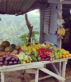 Mountain fruits.