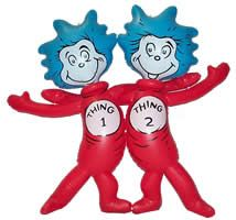 thing 1 and 2 inflatables