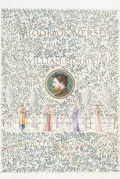 William Morris, 'A Book of Verse', 1870. Museum no. MSL.1953:131