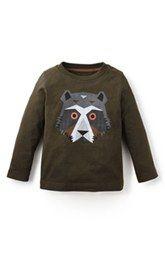 Tea Collection 'Andean Bear' Graphic Long Sleeve T-Shirt (Toddler Boys & Little Boys)