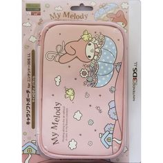 Amazon.com: Nintendo Official Kawaii 3DS XL Soft Case -MY MELODY Parasol-: Video Games                                                                                                                                                                                 More