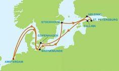 Crucero por Escandinavia y Rusia