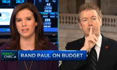 """During an interview with CNBC's Kelly Evans, Kentucky Senator Rand Paul shushed Evans and told her to """"calm down"""" while he answered a question. Use this interview as Exhibit A when prepping top executives on what not to do when talking with the media."""