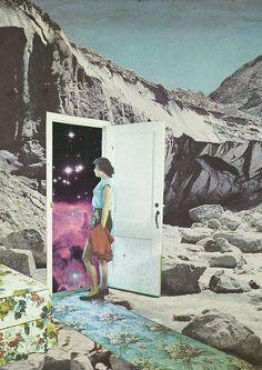 segundo portal | von Mariano Peccinetti Collage Art on flickr