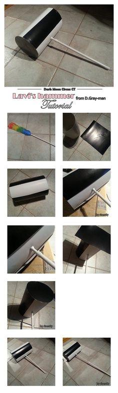 Lavi's hammer tutorial by riona-enolli.deviantart.com on @DeviantArt