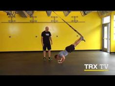 Plank Press, Incline Plank Hold, Incline Plank Press  TRX TV October: Building Core Strength