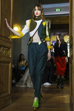 Ronald van der Kemp Fashion Show Couture Fall Winter 2017 Collection in Paris