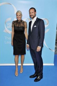01-Sep-2011: Crown Prince Haakon and Crown Princess Mette-Marit continued their work at the One Young World Summit in Zurich.