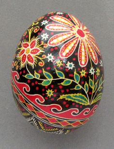 Non-specific flowers are common, and consist of ruzhy. They can be full, empty, compound or even crooked and are a sun sign. A vinok, or garland of flowers, echoes the beautiful garlands worn by Ukrainian girls around their heads during holidays and celebrations. On the pysanka, vinky are drawn in three circles around the egg, representing the three parts of human existence: birth, marriage, and life.