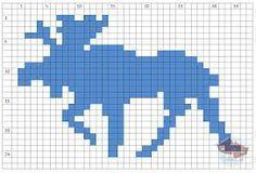 moose knitting pattern