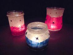 materialwiese: Windlichter für den Weihnachtsmarkt