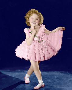 Shirley Temple - baby take a bow.