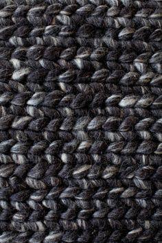 Linie Design Comfort Rectangular Charcoal Area Rug