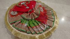 Vrishti Creations -Saree packing tray