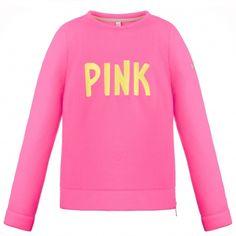 Poivre Blanc Girls Fleece Sweater in Ambrosia Pink Childrens Ski Wear, Girls Fleece, Fleece Sweater, Graphic Sweatshirt, White Stone, Sweatshirts, Sweaters, Pink, Layers