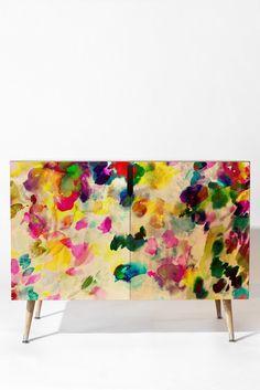 Gabriela Fuente Florastic Credenza | DENY Designs Home Accessories
