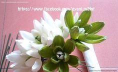 Hướng dẫn làm hoa mộc lan bằng giấy nhún - Magnolia Sieboldii paper flower Tutorial at https://www.youtube.com/watch?v=fpf86zhBWRE
