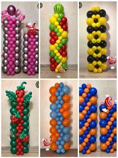 Balloon Arch Diy, Balloon Crafts, Birthday Balloon Decorations, Balloon Columns, Balloon Ideas, Romantic Room Decoration, Balloon Stands, Celebration Balloons, Rainbow Birthday