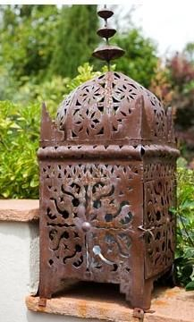 Rusty moroccan lantern