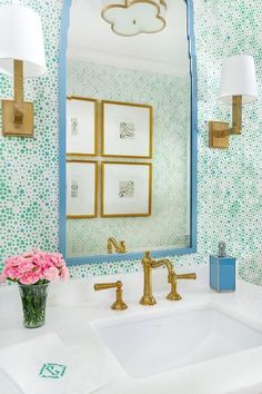 preppy bathroom