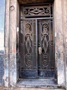 Wrought Iron Door, Casablanca | Flickr - Photo Sharing!