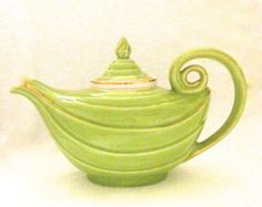 "Vintage Hall ""Aladdin"" Porcelain Teapot"