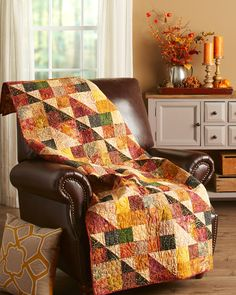 Patch Quilt, Quilt Blocks, Fall Sewing Projects, Fall Quilts, Scrappy Quilts, Traditional Fireplace, Halloween Quilts, Quilt Top, Machine Quilting