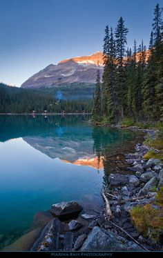 Lake O'Hara. Canada's Yoho National Park.