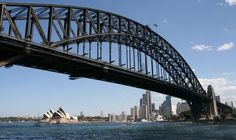 One of best big cities of the World: Sydney, Australia with its landmarks.