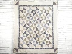 Turn The Page Quilt Kit by Erica Jackman featuring FreeSpirit Skipping Stones by Anna Maria Horner Fabric | Craftsy