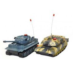 Już u nas!!! Czołgi Zdalnie Sterowane German Tiger i Abrams RTR  Niesamowity zestaw dwóch walczących czołgów, który zajmie nie tylko dzieci ale także dorosłych na kilka godzin i zagwarantuje świetną zabawę.   Chcesz wiedzieć więcej? Zobacz opis, dane techniczne, komentarze oraz film Video. Nie ma jeszcze komentarzy, to czemu nie zostawisz swojego:)  #czolgi #modele #rc #german #tiger #abrams #RTR #zdalnie #sterowane