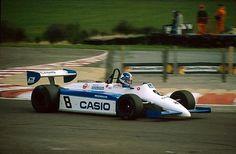 "Jonathan Palmer - Ralt RH6/83 Honda/Mugen - Ralt Racing Ltd - XXVII B.A.R.C. ""200"" 1983 - XI Jochen Rindt Trophy - European Championship for F2 Drivers, Round 2 - © Sutton Motorsport Images"