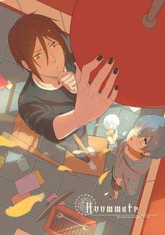 Roommate fanart | Kurotshitusji | Black Butler