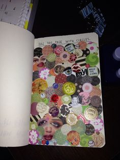 Wreck This Journal Page Circles :)
