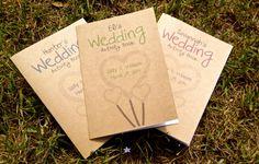 Personalised Kids Wedding Activity Book by WeddingToolzStore, $4.49