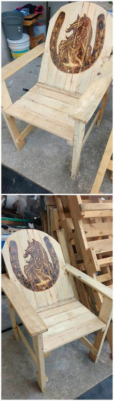 Amazing DIY Wooden Pallet Ideas to Tryout This Year: Wooden pallets are all about being durable in nature, longer lasting in resistance and cheap in terms of rates. Wooden Pallet Crafts, Wooden Pallet Furniture, Wooden Pallets, Wooden Diy, Decorative Cinder Blocks, Wood Pallet Wine Rack, Pallet Wood, Pallet Vanity, Wine Rack Table