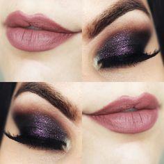 Tutorial – maquiagem com olho esfumado escuro para show
