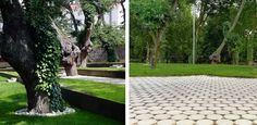 Permeable pavement?   Redevelopment-of-the-Park-Garden-and-Carballeira