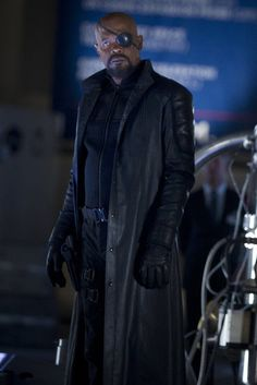 The Avengers Assemble For Halloween: Nick Fury