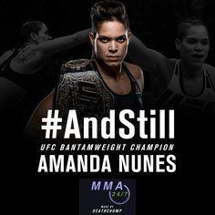Amanda Nunes, Ufc, Champion