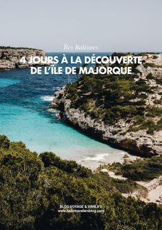 Majorque, Mallorca, Baléares. Découvrez notre article : 4 jours à la découverte de l'île de Majorque. Tenerife, Voyage Europe, Road Trip, Blog Voyage, Digital Nomad, Places To Travel, To Go, Wanderlust, World