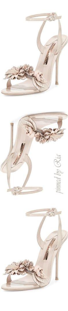 Sophia Webster Lilico Floral Leather Sandal l Ria