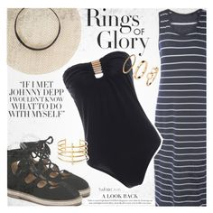 Maxi Stylish on the Beach by vanjazivadinovic on Polyvore featuring moda, BauXo, H&M, Tiffany & Co., polyvoreeditorial and twinkledeals