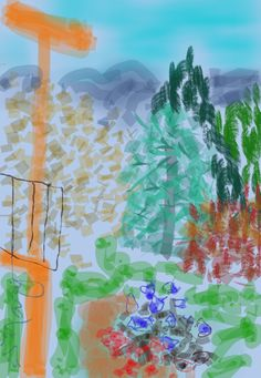 My Art Notes: Sketching on Location Using My Phone