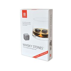 Whiskey Stones. $20.00, Keep in freezer and use to keep whiskey cold. Won't water it down. At Sur la Tab