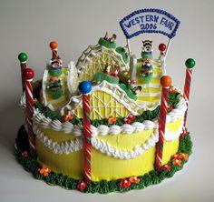 roller coaster cakes | Roller Coaster Cake | Flickr - Photo Sharing!