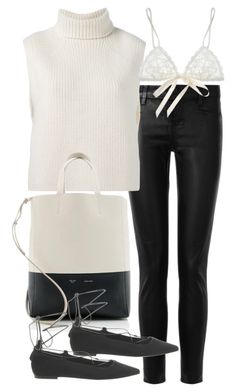"""""""Untitled #18624"""" by florencia95 ❤ liked on Polyvore featuring J Brand, Étoile Isabel Marant, CÉLINE, Hanky Panky, Office and popofluxury"""